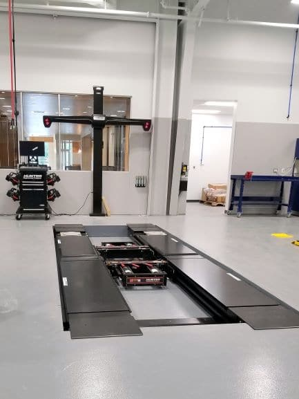 Hunter alignment machine system CT, RI and Western MA