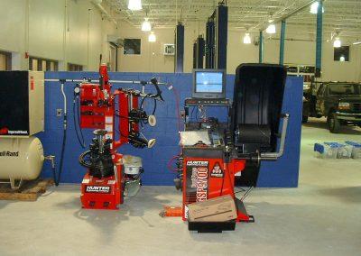 Hunter Wheel Balancer & Tire Changer