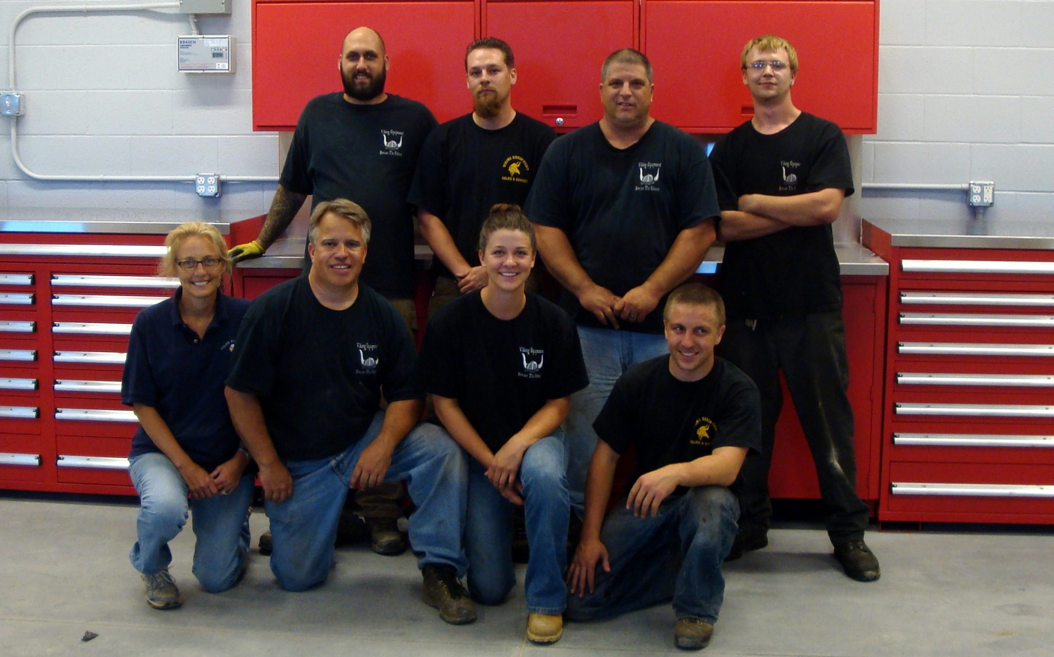 Viking Equipment Staff at our shop in Deep River, CT