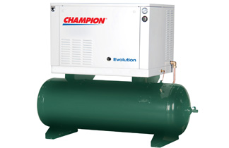 Champion air compressors revolution series
