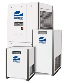 deltech hydroguard refrigerated air dryer