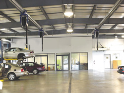 auto shop garage exhaust system norwalk ct