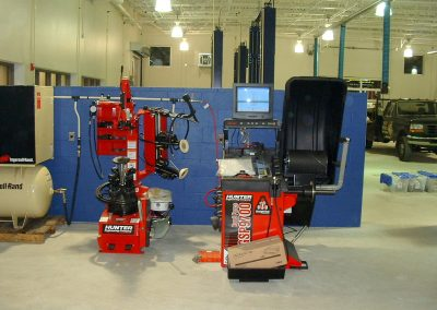 Hunter Wheel Balancer & Tire Changer