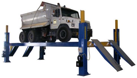 heavy duty 4 post automotive lift