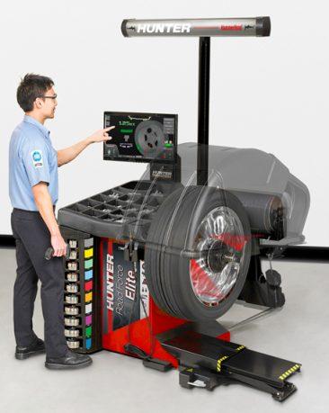 Hunter wheel balancer in CT, RI and Western MA